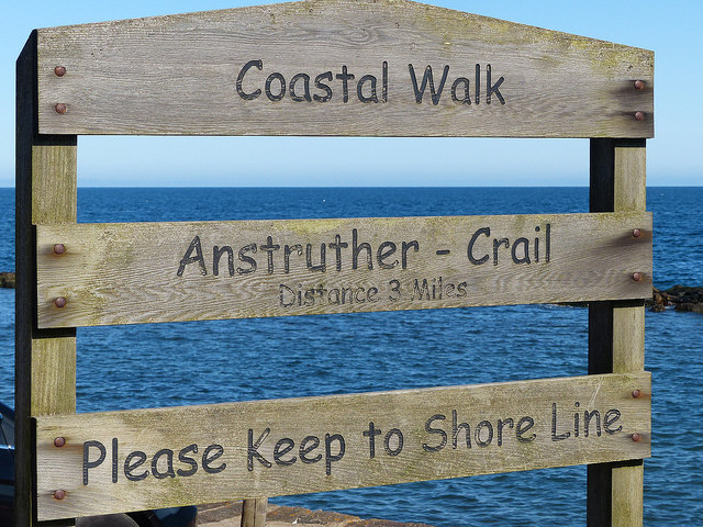 Walking the Fife Coastal Path