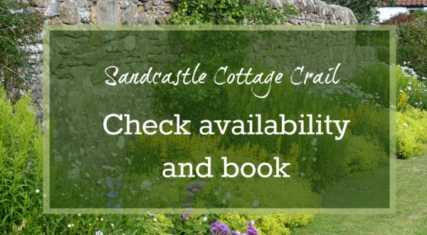 how to book sandcastle cottage