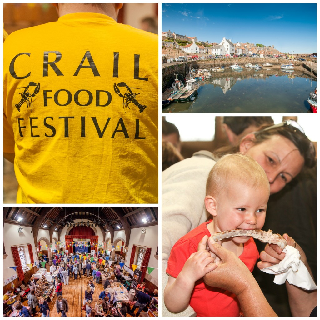 mid june for the Crail Food Festival