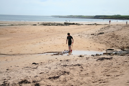 Day Out Cambo Sands Beach Kingsbarns