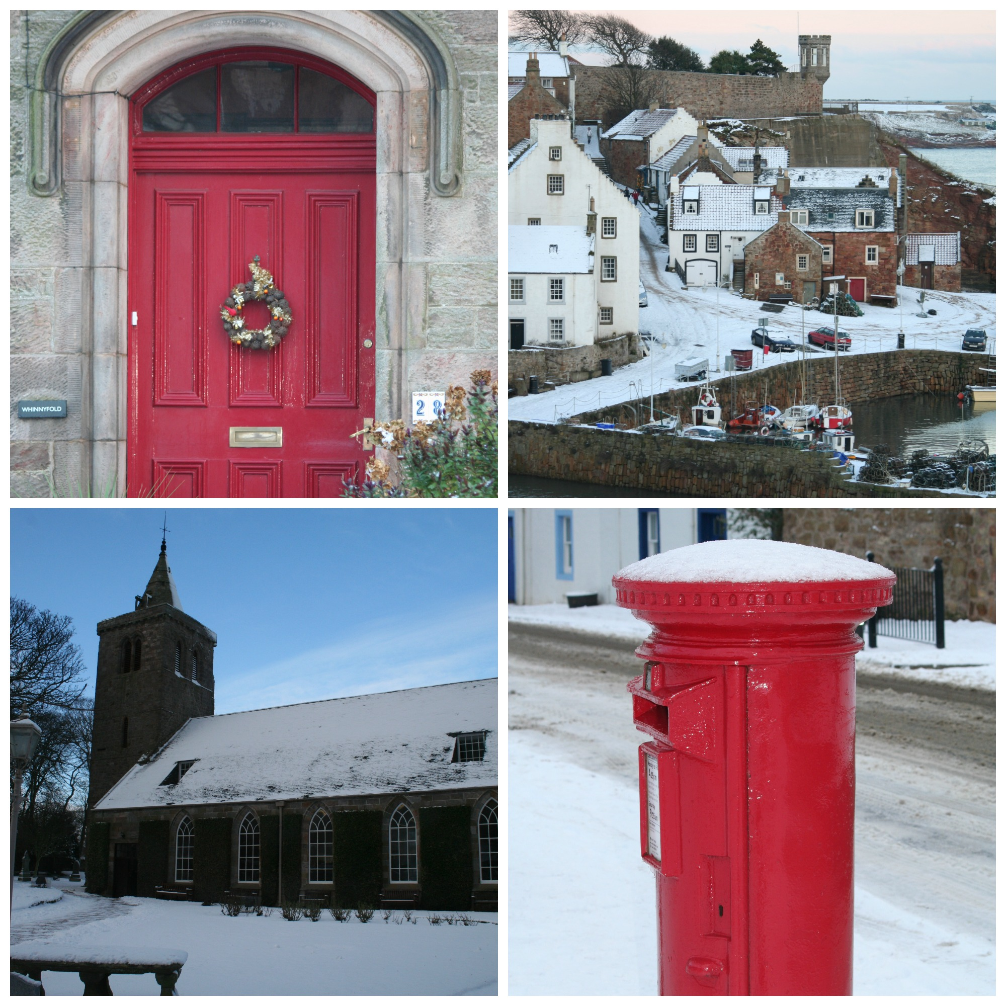 Christmas holidays in Crail Fife