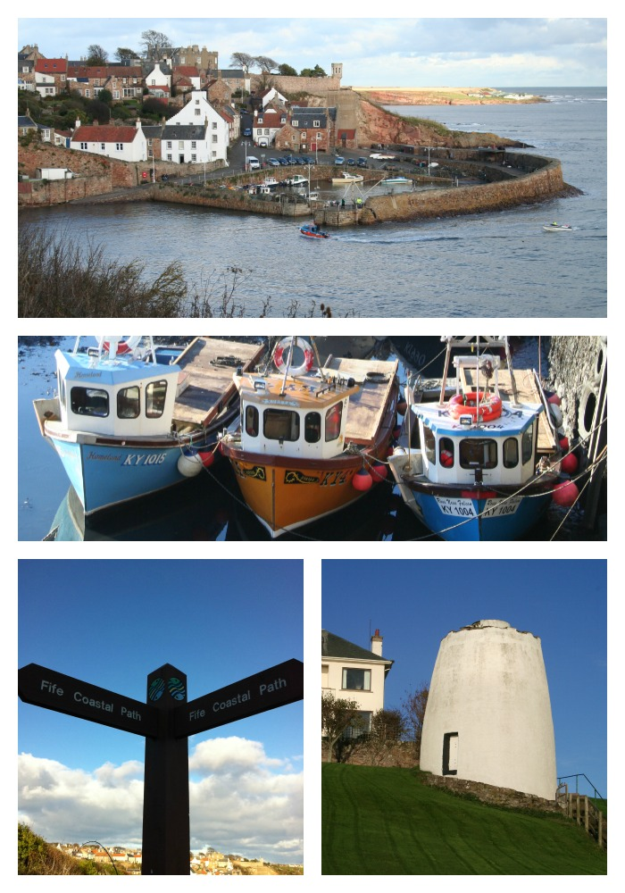 holiday Fife Coastal Path Crail
