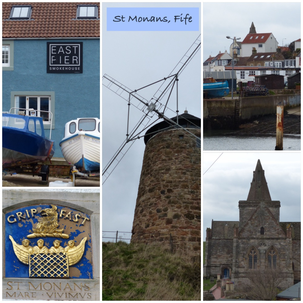 Fife Coastal path at St Monans