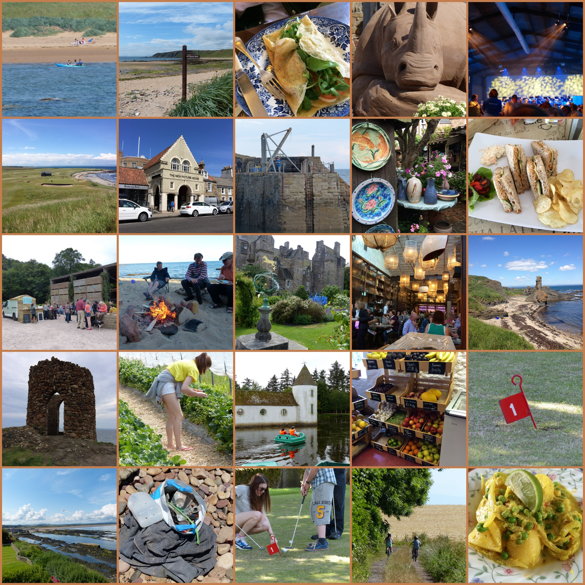25 things to do on a holiday in the East Neuk of Fife