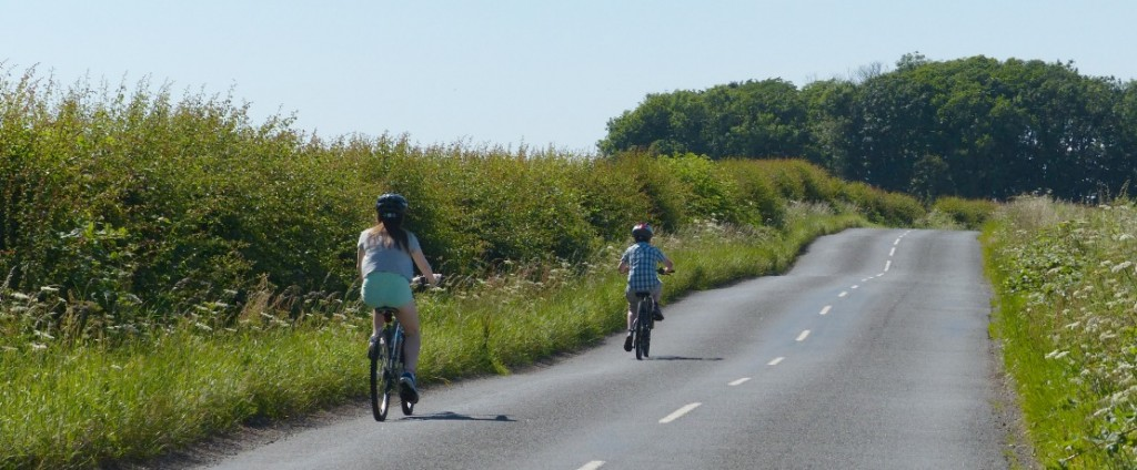 Cycling in the East Neuk of Fife