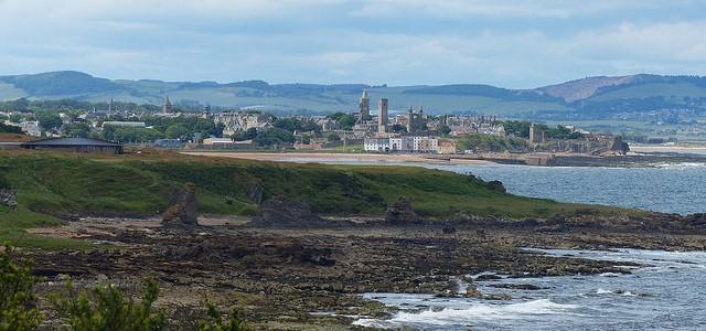 Walking the Fife Coastal Path – Kingsbarns to St Andrews