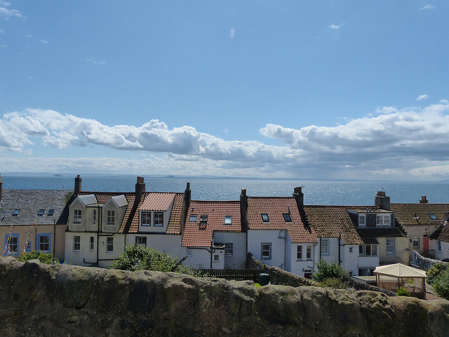 rooftop views Pittenweem