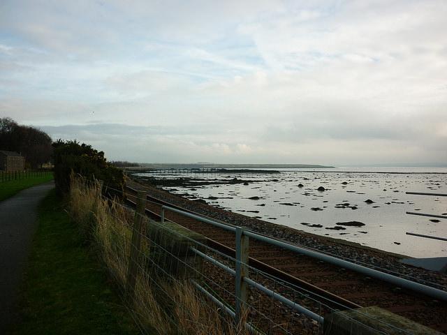 Looking towards Culross, Fife