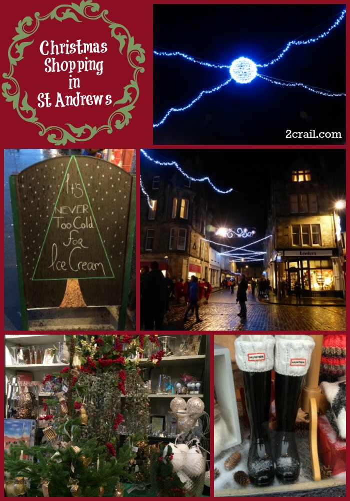christmas shopping st andrews