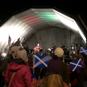 last minute st andrew's day in St andrews