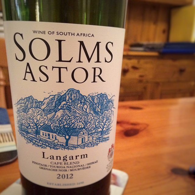 solms astor st andrews wine