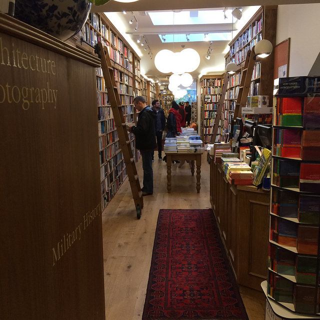 book shopping at St andrews