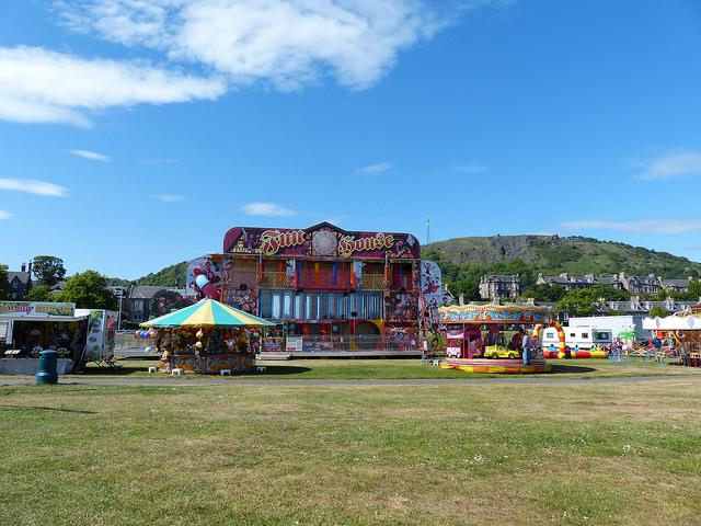 Funfair Burntisland