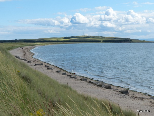 fife coast at dumbarnie links
