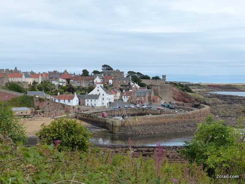 Crail Harbour on Fife Coastal Path