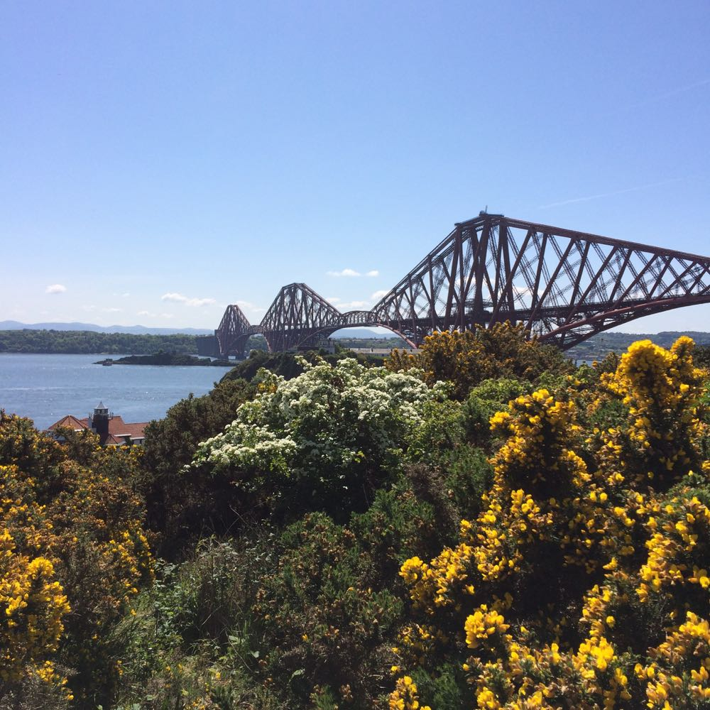 Forth Bridge from Carlingnose Point