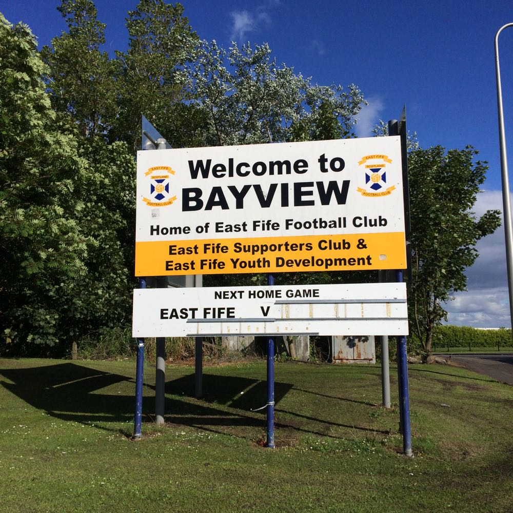 bayview east fife football ground