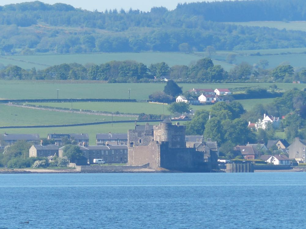 Outlander location Blackness Castle
