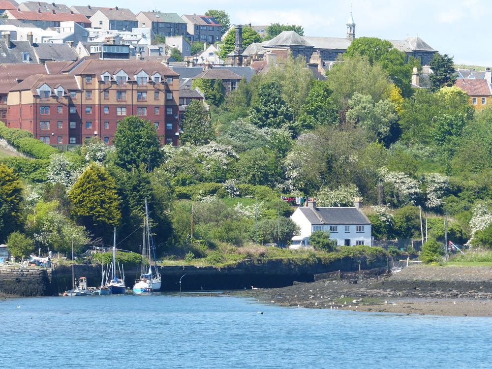 Inverkeithing from Carlingnose point