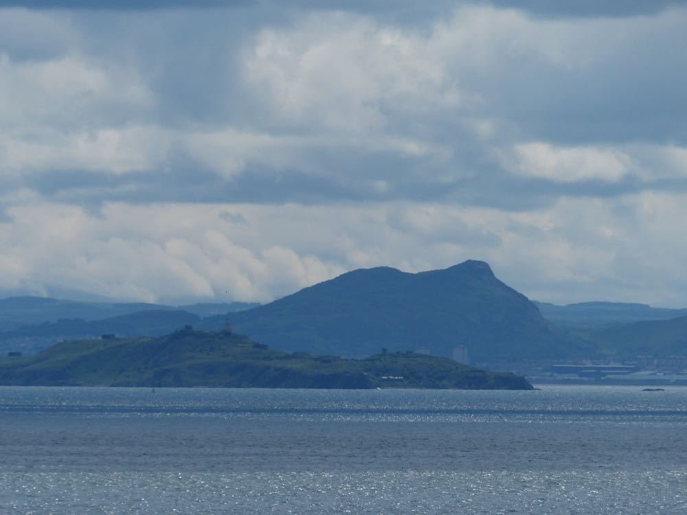 views from Dysart to Edinburgh