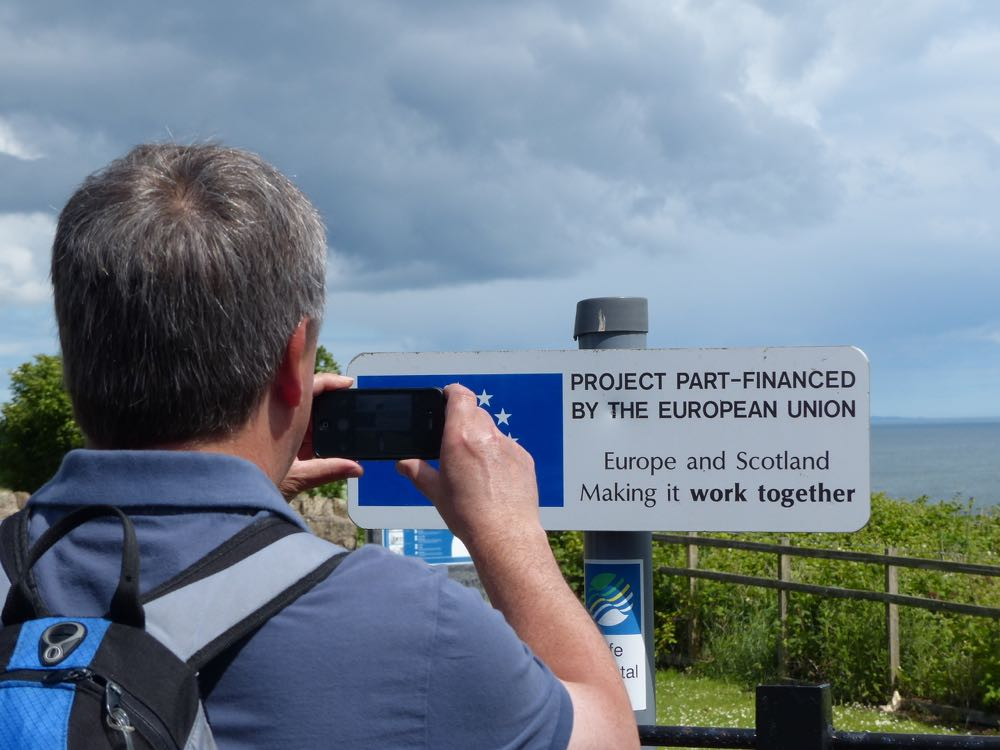 European Funding Fife Coastal Path