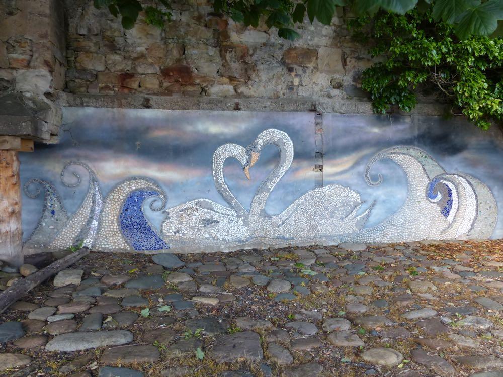wemyss family swan mural