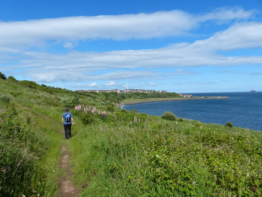 rough walking to Buckhaven