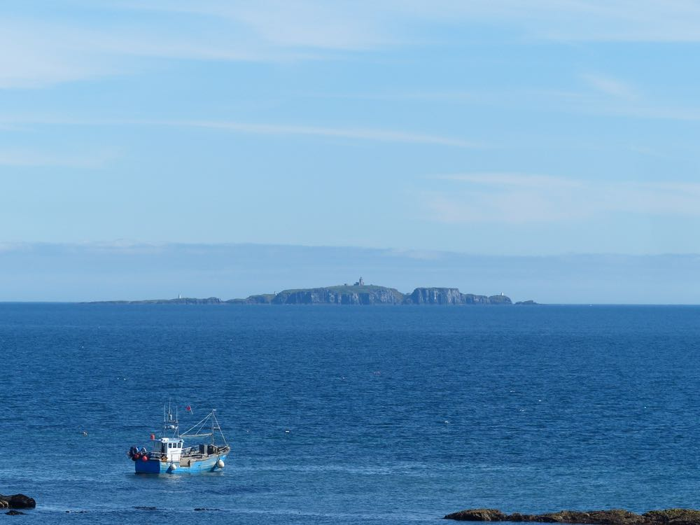 Isle of May from Pittenweem