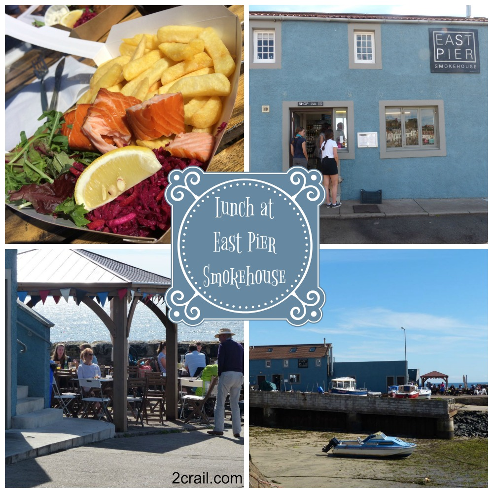 East Pier Smokehouse lunch St Monans