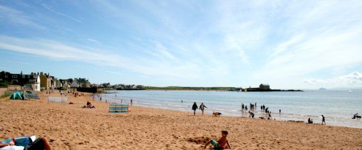 Beach Picnic and Watersports at Elie, Fife