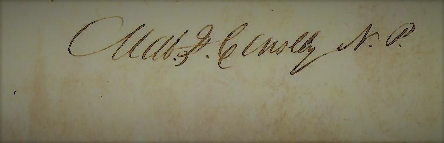 family tree signature