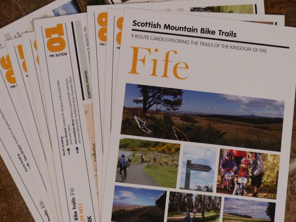 Leaflets for cycle routes in Fife