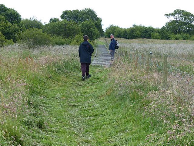 moorland section of Fife Coastal Path