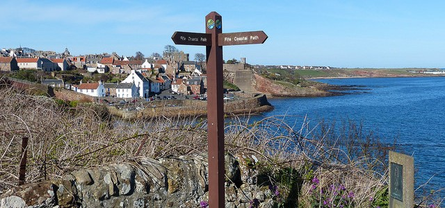 Walking the Fife Coastal Path – Elie to Crail