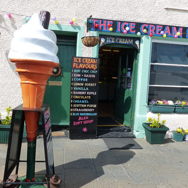 nicholsons ices pittenweem