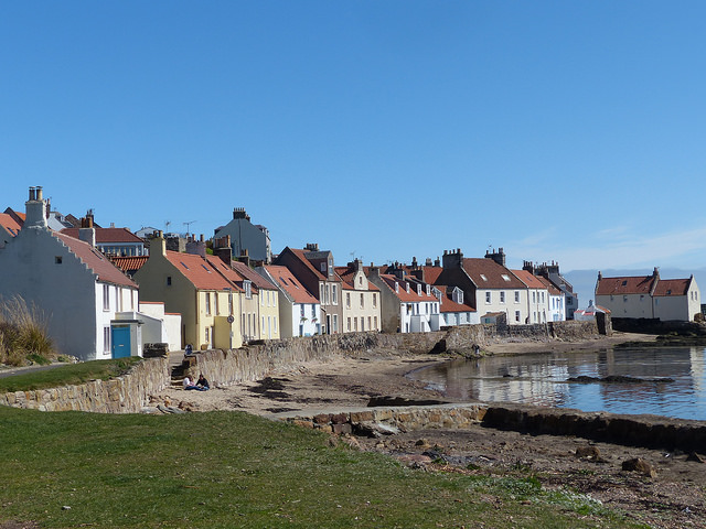 Pittenweem shore, Fife