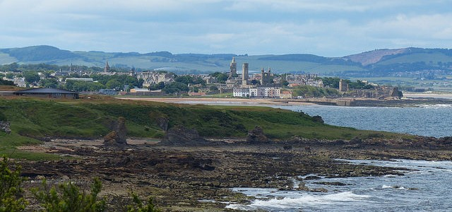 Walking the Fife Coastal Path – Kingsbarns to St Andrews