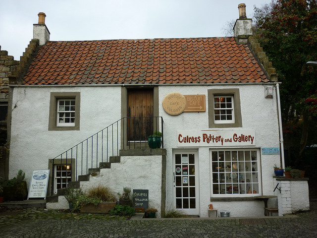 Biscuit Cafe Culross, Pottery and General Store