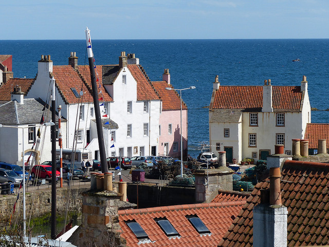 Views towards The Gyles Pittenweem with the Reaper