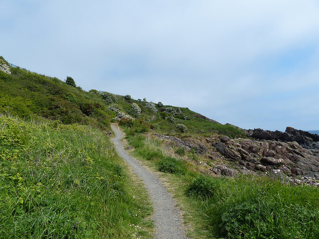back on the trail at Kinghorn