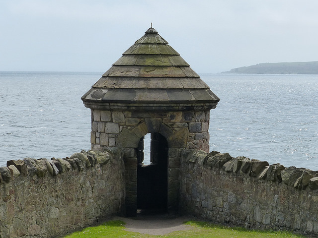 turret at Ravenscraig