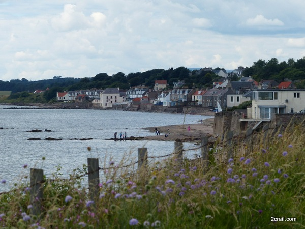 from the fife coastal path at lower largo