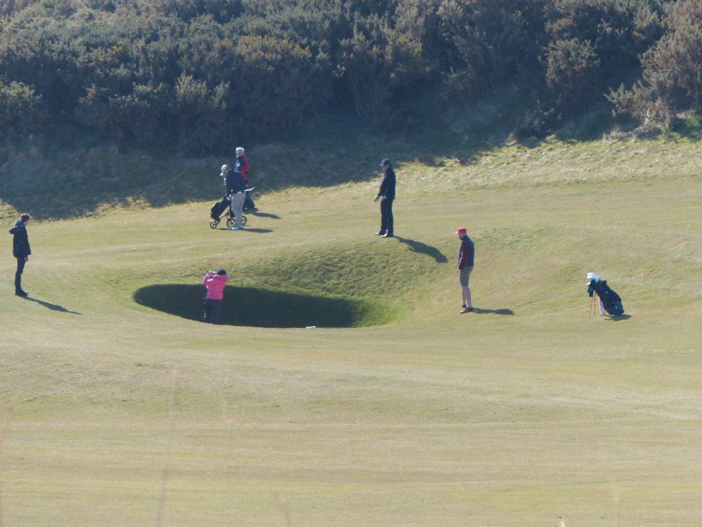 Golfing Short breaks in Crail