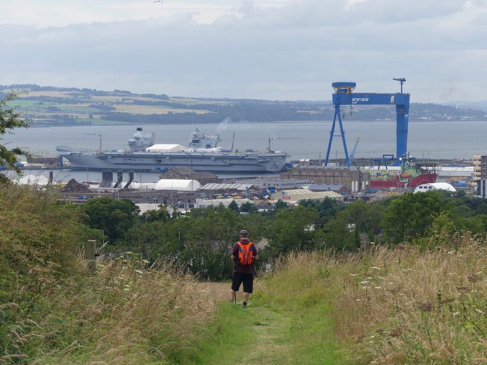 Walking the fife Pilgrim Way