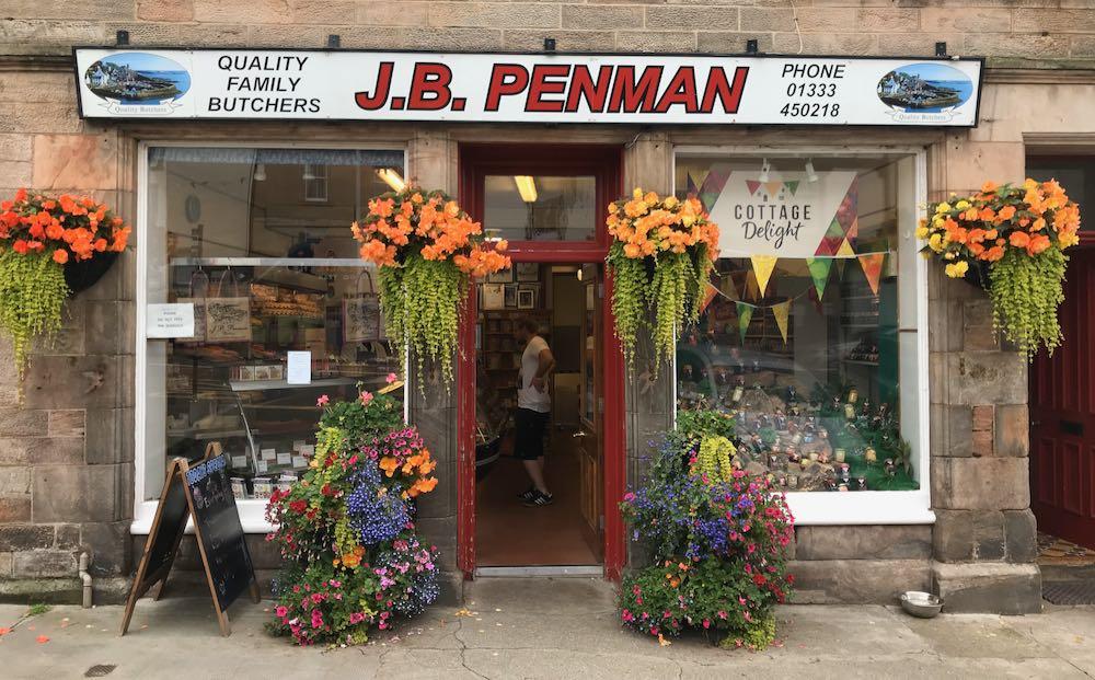 J B Penmans shops