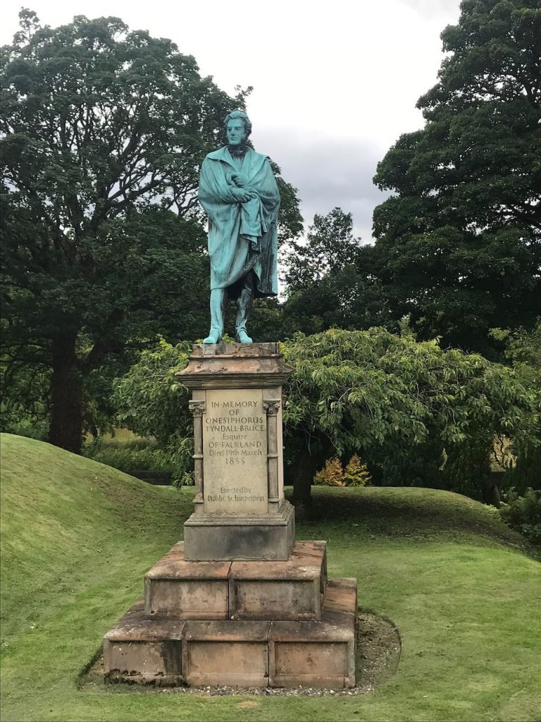 Statue of Onesiphorus Tyndall Bruce