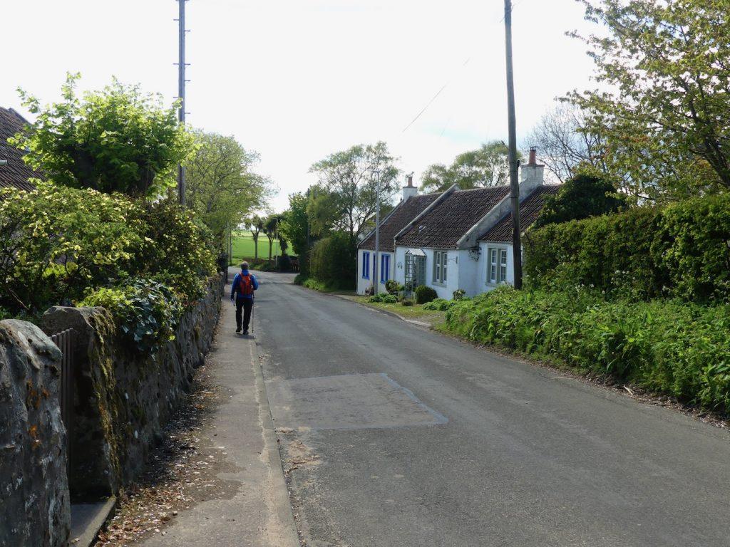 Walking through Abercrombie Village