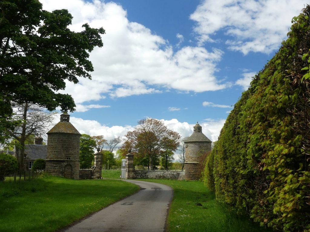 Pittenweem Balcaskie and St Monans - Gates to Balcaskie House