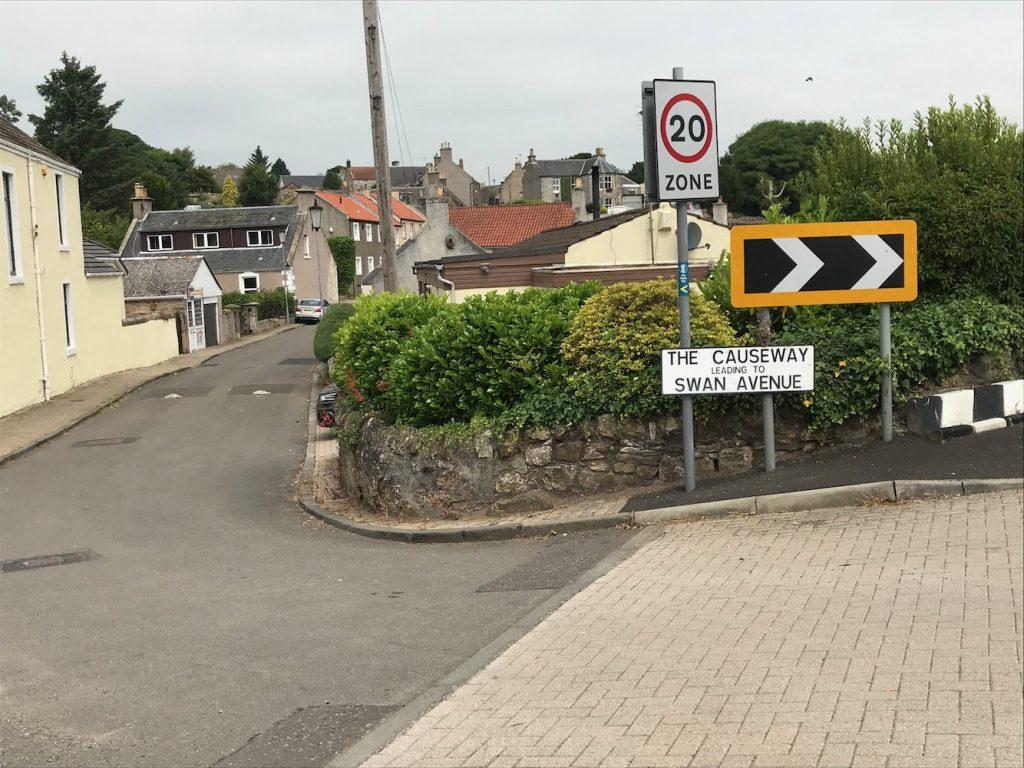 Markinch to Kennoway along the Pilgrim Way