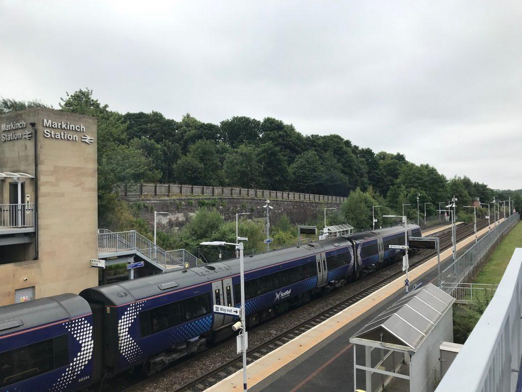 Markinch Railway Station